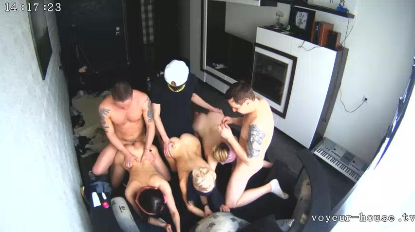 6 Some Swinger Sex Anna and Alex, Drew and Bree Voyeur House HD videos