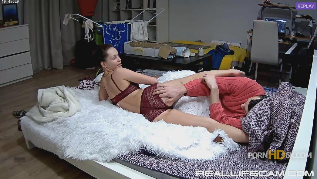 RealLifeCam Eva Hot Sexy Lingerie in Bedroom