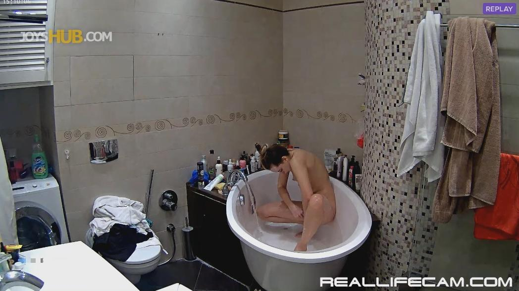 RealLifeCam Kristy Shower Hot Naked Babe