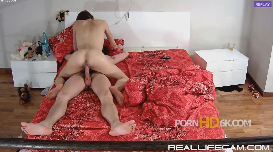 RealLifeCam Anabel and Efim Young Babe Suck and Riding Hardcore Sex Part 2
