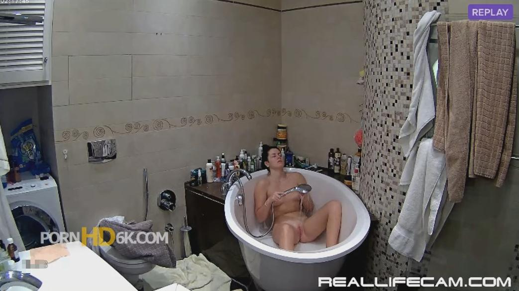 RealLifeCam Kaley Pink Pussy Babe Shower