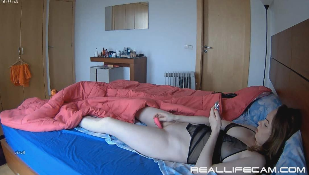 RealLifeCam Beatrice Morning Dildo Masturbation