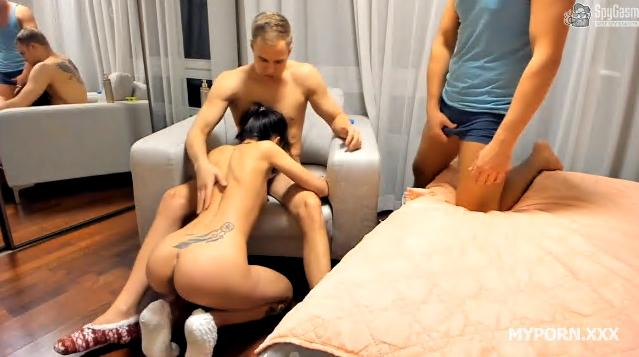 Romeo, Seb and Kira Cuckold Contest Video