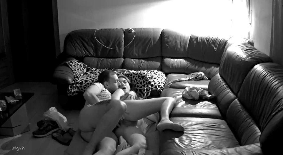 RealLifeCam Martina and Alberto Sex in living room