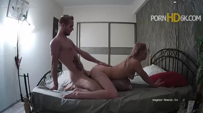 Violet and Jeff Hot Amazing Hardcore Evening Sex in Bedroom at Voyeur House HD videos