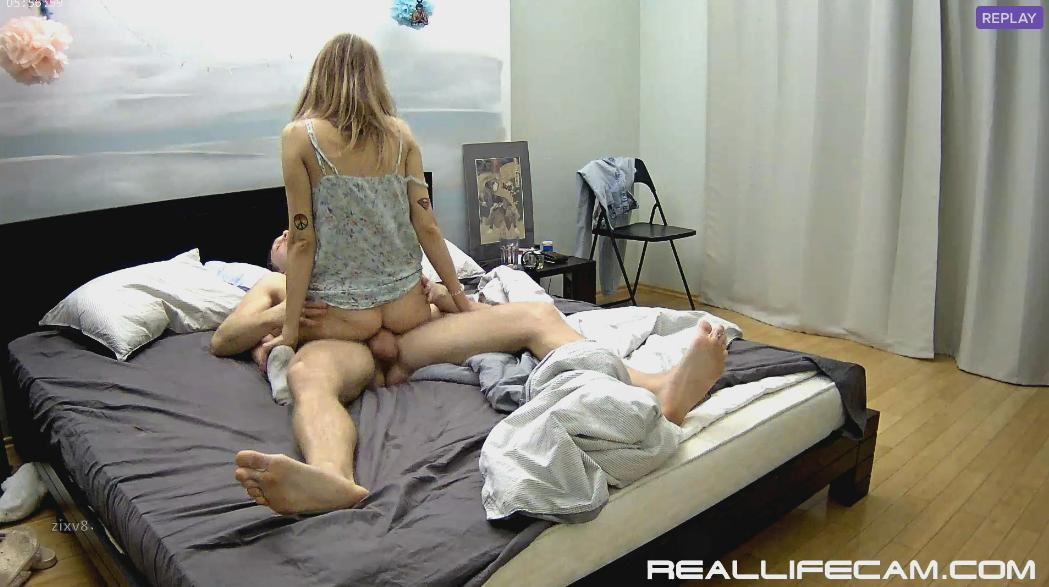 RealLifeCam Taya and Will Morning Many Position Amazing Sex