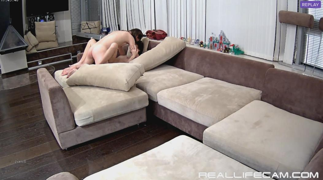 Anabel and Efim Missionary Hard Sex in Living Room