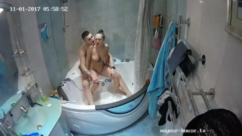 Misty Zac jacuzzi Sex with Anastasia and Rock, Nyusha in Bathroom