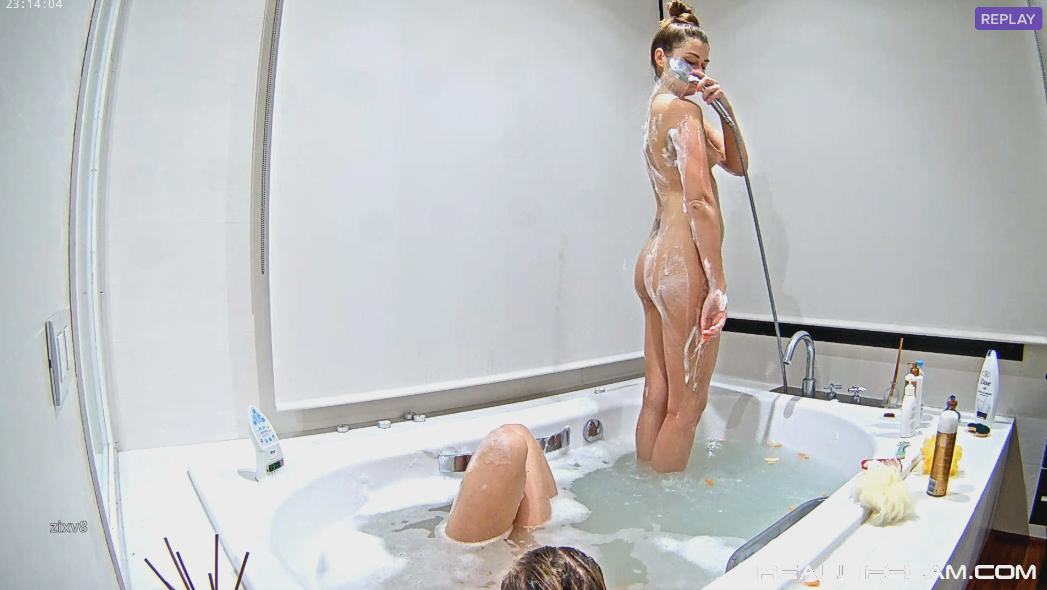 RealLifeCam Vacations Girl Sexy Nude Shower Girls